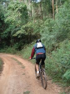 Barba na estrada: pedalando muito!