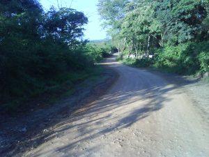 Estrada de chão batido de Lagoa dos Mares